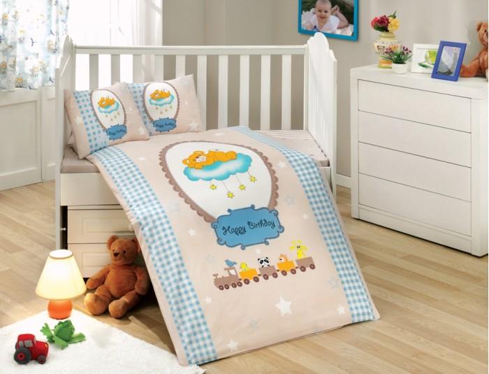 Комплекты в кроватку Hobby Home Collection C одеялом Bambam 100х150 см