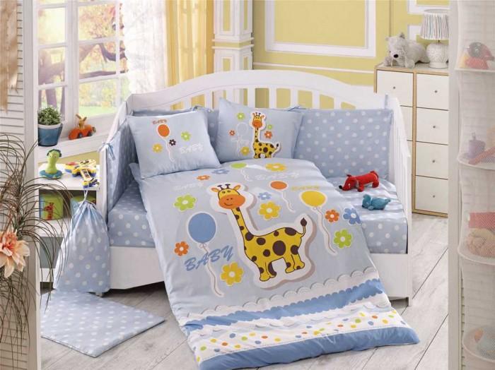 Комплекты в кроватку Hobby Home Collection С одеялом Puffy 100х150 см