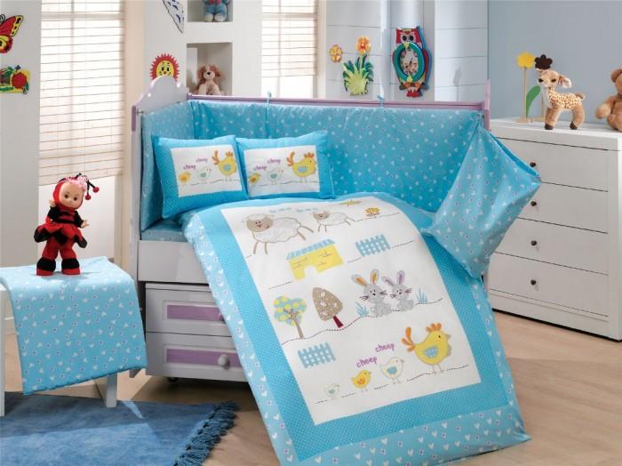 Купить Комплекты в кроватку, Комплект в кроватку Hobby Home Collection С одеялом Zoo 100х150 см