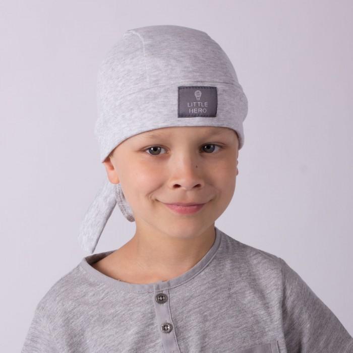 Головные уборы HohLoon Бандана для мальчика с нашивкой Little Hero