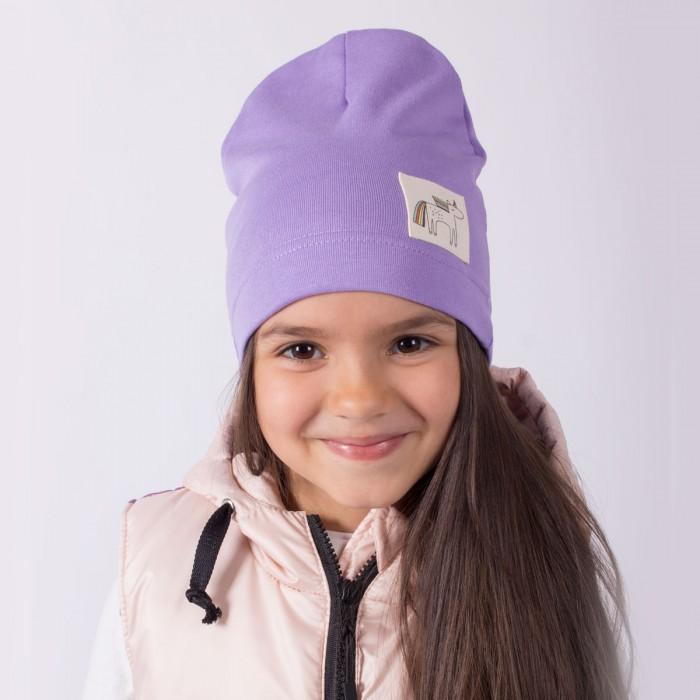 Шапки, варежки и шарфы HohLoon Однослойная шапка Единорог