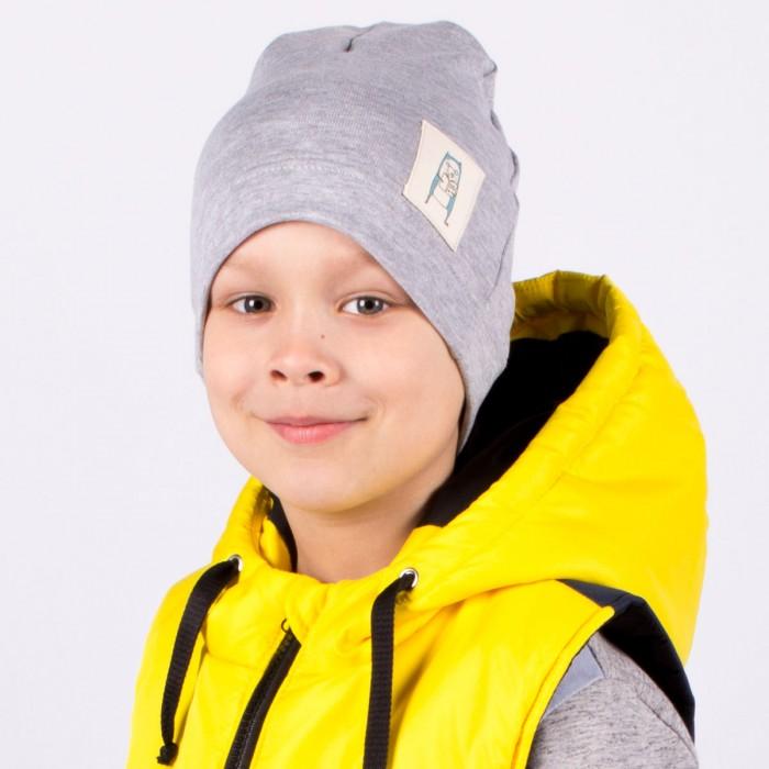 Шапки, варежки и шарфы HohLoon Однослойная шапка Мишка