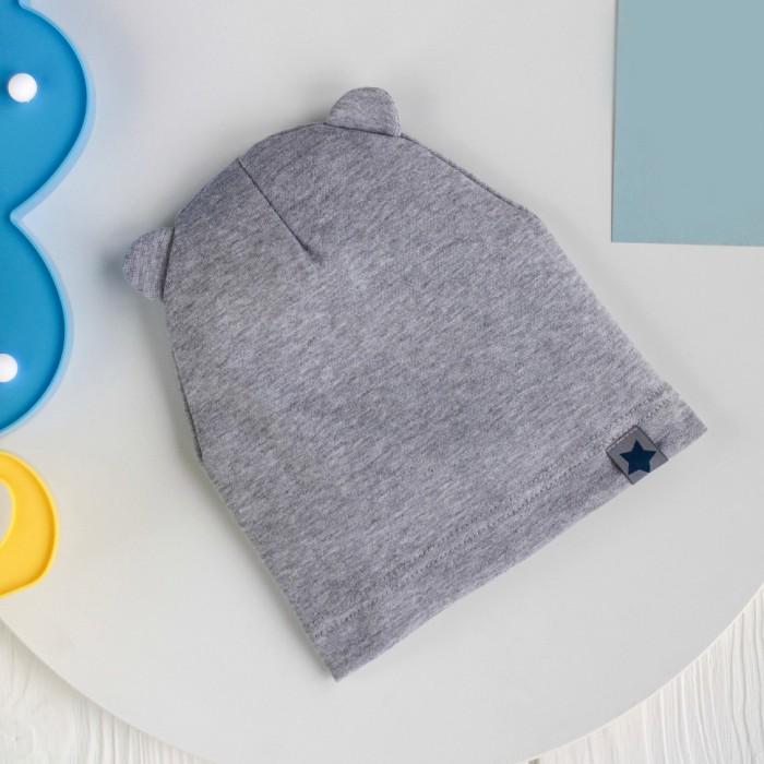HohLoon Однослойная шапка с ушками Маленькая звезда фото