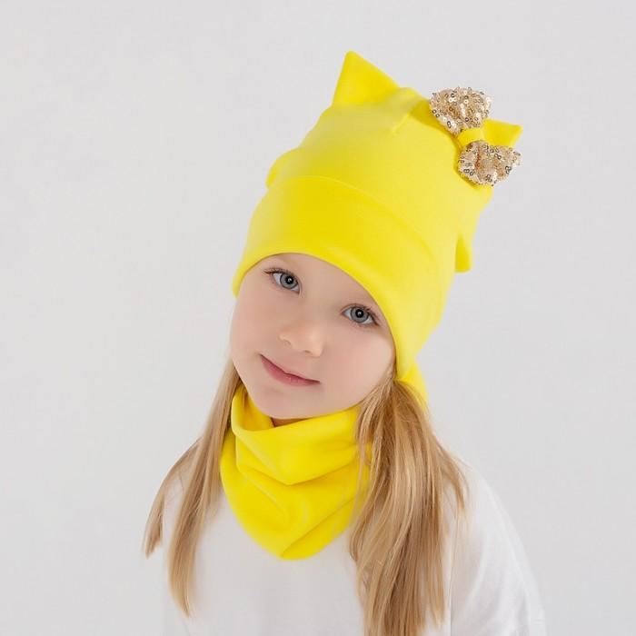 Картинка для Шапки, варежки и шарфы HohLoon Шапка-кошка двухслойная