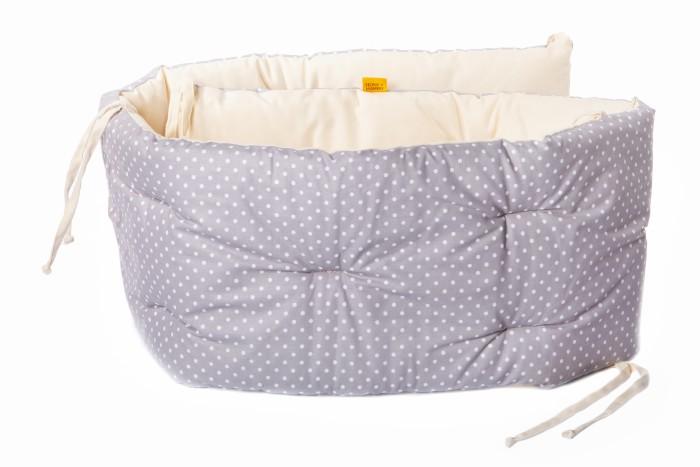 Бортик в кроватку HoneyMammy подушки Small Dots