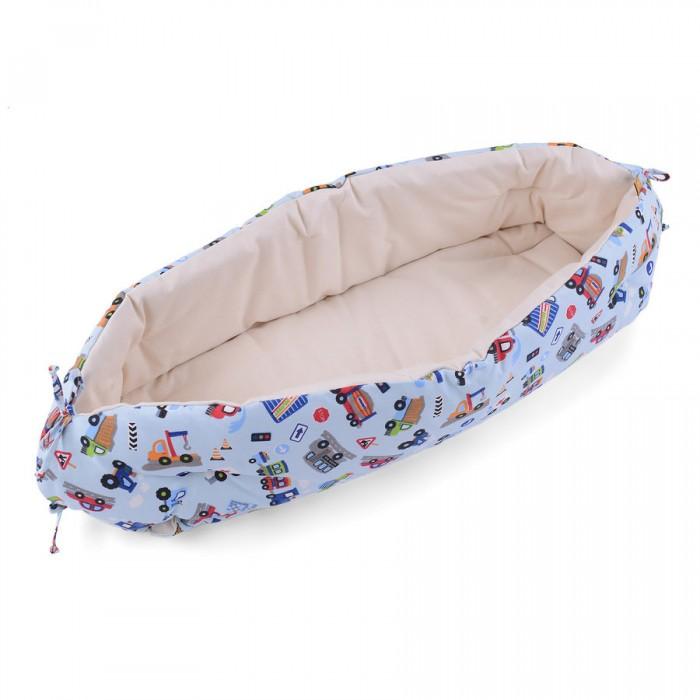 Позиционеры для сна HoneyMammy Кокон для новорожденного для совместного сна Organic City Cars, Позиционеры для сна - артикул:498966