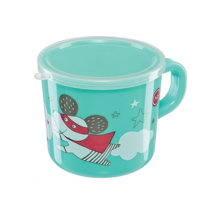 Посуда Happy Baby Кружка с ручкой и крышкой детское автокресло happy baby skyler blue
