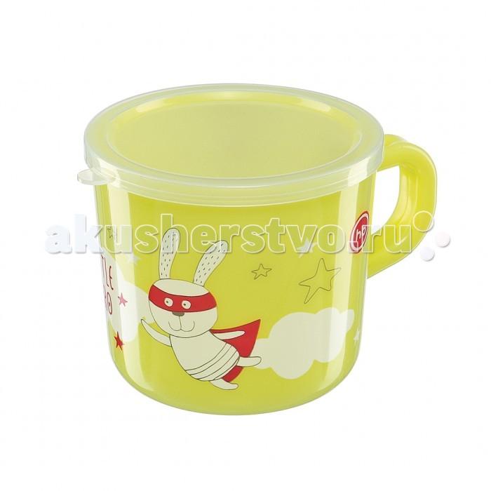 Посуда Happy Baby Кружка с ручкой и крышкой поильники happy baby тренировочная кружка с крышкой training cup