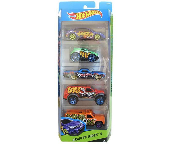 Машины Hot Wheels Набор из 5 машинок
