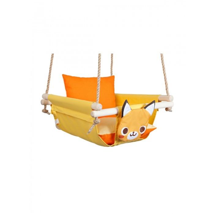 Качели Hotenok подвесные с подушками Лиса на солнце