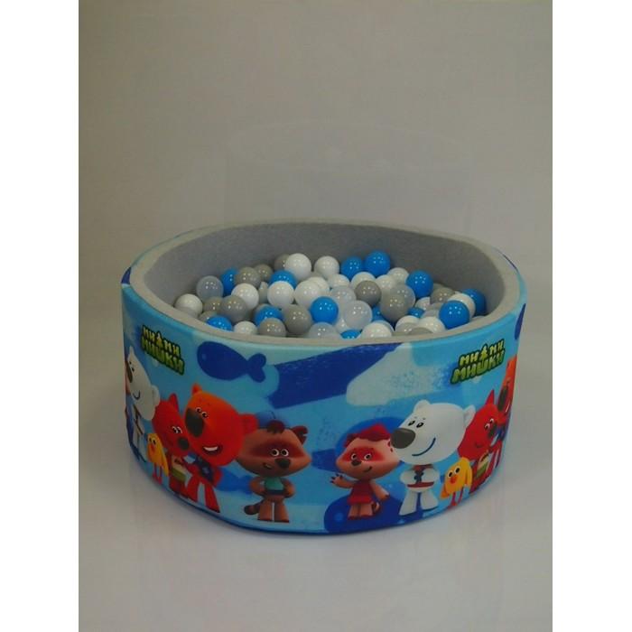 Hotenok Сухой игровой бассейн МиМиМишки 40 см с комплектом шаров 200 шт.