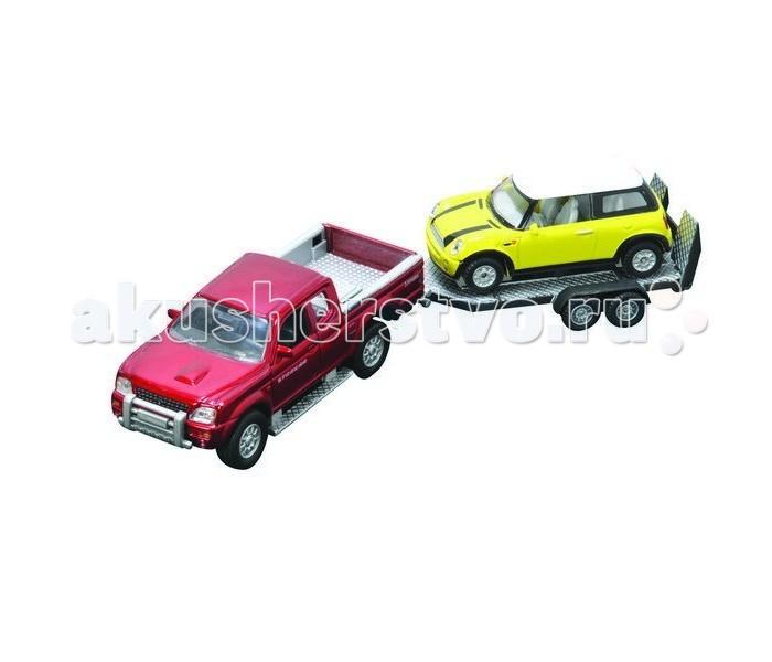Машины Roadsterz Машинки с прицепом 1:43 и 1:32 машинки globo набор автопоезд с прицепом и животным
