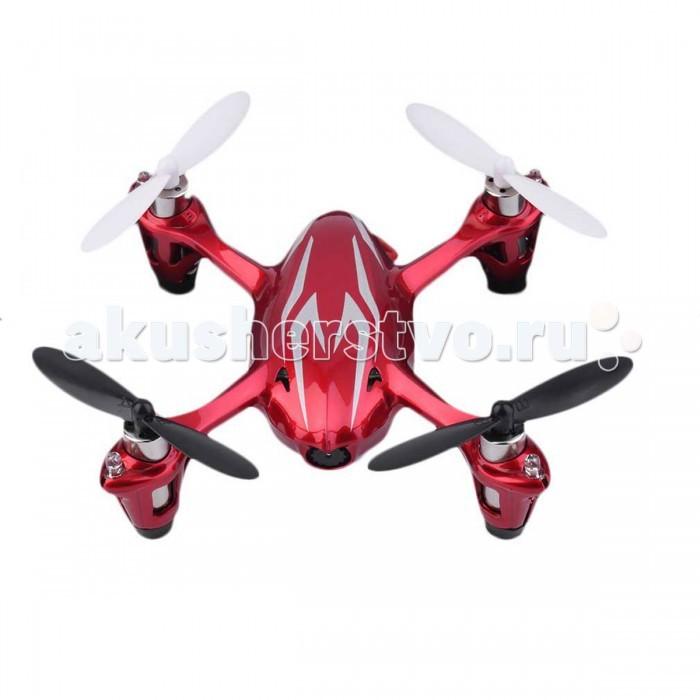 Hubsan Квадрокоптер X 4 Mini QuadcopterКвадрокоптер X 4 Mini QuadcopterHubsan Квадрокоптер X 4 Mini Quadcopter, который способен летать как в помещении, так и на улице. Современная аппаратура на 2.4 ГГц обеспечивает надежную защиту от помех.  Модель оснащена прочным футуристическим кузовом и светодиодами для ночных полетов. Благодаря настраиваемой чувствительности управления модель подходит и для новичков и для профессионалов. В модели применен гироскоп, который придает модели устойчивость при полете.  Особенности: Материал корпуса: пластик Тип управления: Радио 2,4 ГГц Датчик стабилизации полета 6 осевой гироскоп Тип двигателей: х4 - 0720RN57A-9M-130NL52 Зарядное устройство: USB кабель Время зарядки: 40 минут Время полета: 10 минут Дальность связи: до 100 метров Пульт ДУ радио, 2.4 ГГц, 4-х канальный с ЖК дисплеем Дополнительно: 4 резиновые ножки; 4-е светодиодных фонарика (2 синих,2 белых) Источник питания: Аккумулятор 3.7V 100 mAh Li-Po  Размеры: 65х65 мм<br>