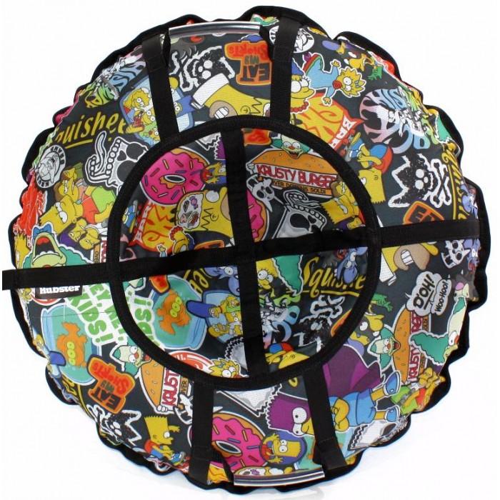 Тюбинг Hubster Люкс Pro Симпсоны Графити 120 см