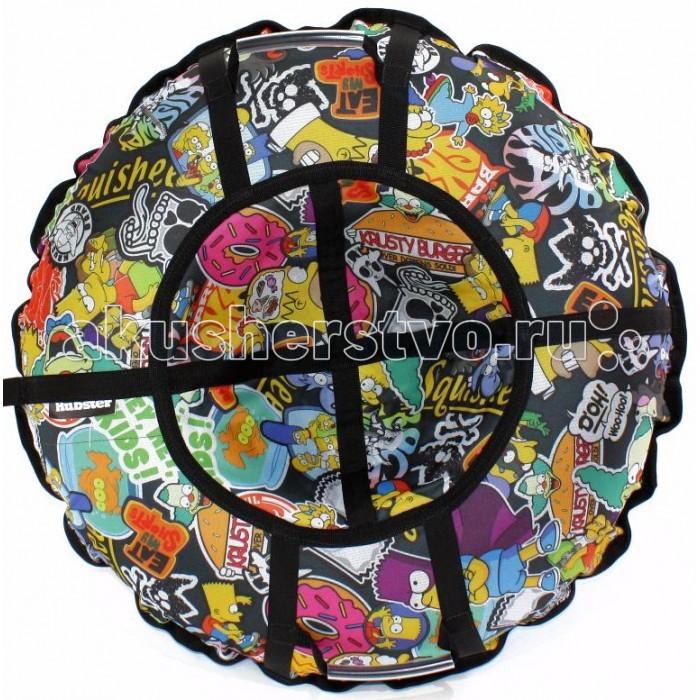 Тюбинг Hubster Люкс Pro Симпсоны Графити 80 см