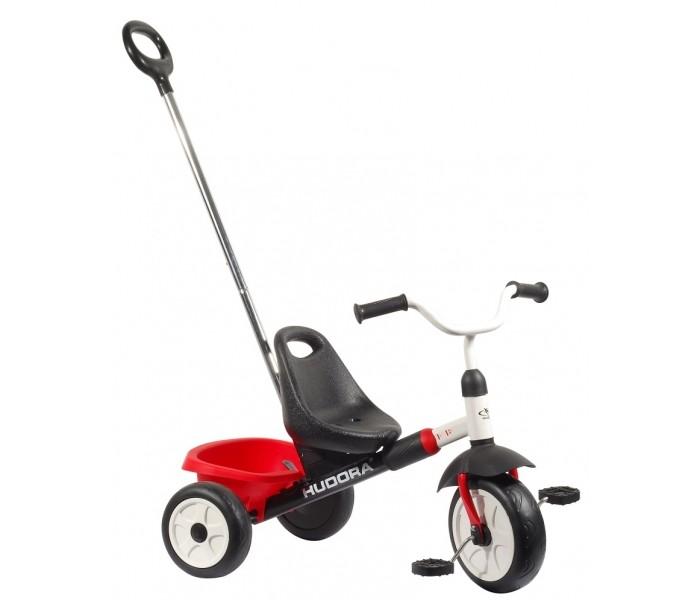 Велосипед трехколесный Hudora One2Run SX 20One2Run SX 20Hudora Трехколесный велосипед One2Run SX 20 для детей от 2 лет.  Особенности: Трубчатая стальная рама с порошковым покрытием Колеса 12 дюймов  Телескопическая, съёмная ручка Раздвижная рама Регулируемое по высоте сидение Размеры велосипеда 7 x 50 x 53 см. Вес 6 кг.<br>