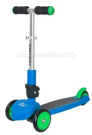 Трехколесный самокат Hudora FlitzkidsFlitzkidsСамокат Hudora Flitzkids имеет два передних колеса, позволяющие начать кататься в раннем возрасте. Это помогает ребенку развивать уверенность и баланс при движении.   Самокат компактен и удобен для хранения благодаря умному шарнирному механизму складывания.   Регулируемый по высоте руль означает, что ваш ребенок может продолжать ездить на нем на долгие годы.  Особенности: Максимальная нагрузка: 50 кг Минимальная высота руля: 92 см Максимальная высота руля: 104 см Размер платформы для ноги (ДхШ): 29 x 11 см Длина в разложенном виде: 97 см Материал колес: PU (пенополиуретан) Диаметр передних колес: 120 мм Диаметр заднего колеса: 100 мм<br>