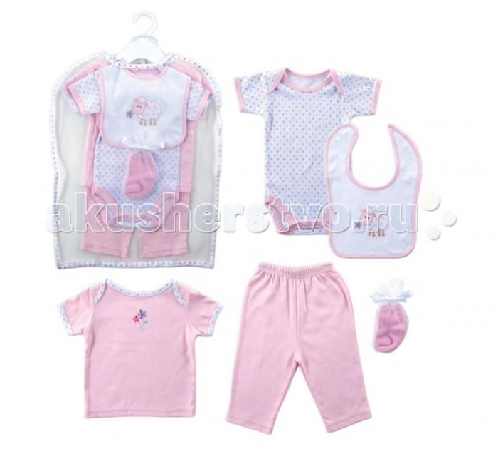 Hudson Baby Подарочный набор одежды Овечка (6 предметов)