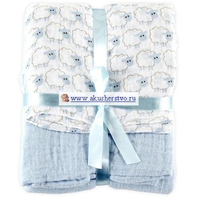 Одеяло Hudson Baby пеленальное Овечки 2 шт.пеленальное Овечки 2 шт.Два очаровательных пеленальных одеяльца Hudson Baby  Мягкие и дышащие одеяльца помогают сделать сон малыша поистине счастливым и безмятежным. Пеленальное одеяльце имеет большой размер 116х116 см., что облегчает пеленание. Его также можно использовать как накидку во время грудного кормления.  Машинная стирка в теплой воде с вещами схожего цвета. Не отбеливать. Сушка в барабане при низкой температуре. Не гладить. Предварительная стирка обязательна.<br>