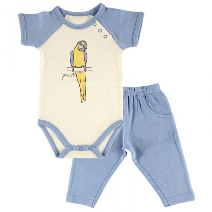 Hudson Baby Комплект Боди короткий рукав и штанишки Лимпопо (2 предмета)