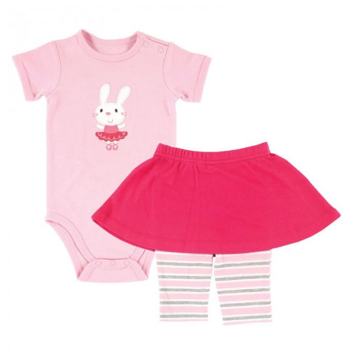 Комплекты детской одежды Hudson Baby Комплект Боди и юбка-леггинсы (2 предмета) комплект боди 5 шт детский hudson baby 50888 f розовый р 61 67