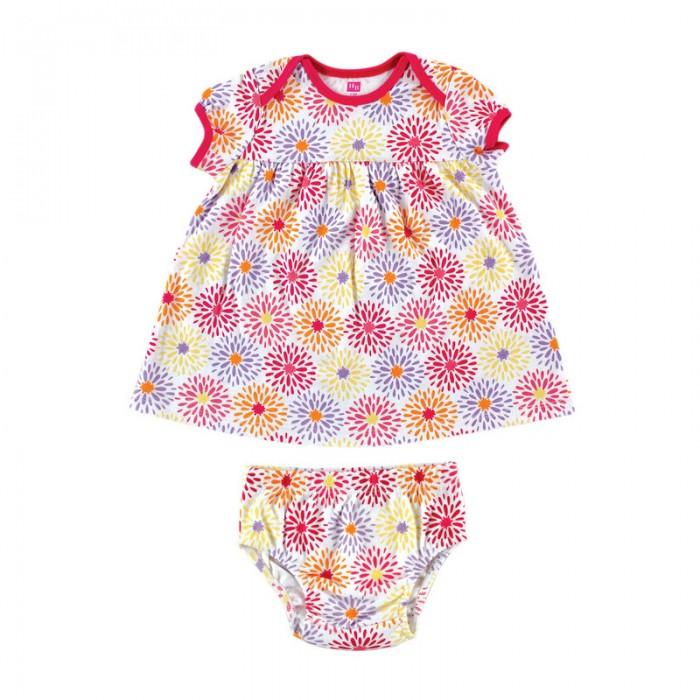Комплекты детской одежды Hudson Baby Комплект Туника (сорочка) и трусы (2 предмета) боди детское hudson baby hudson baby боди цыплёнок 3 шт бирюзово розовый