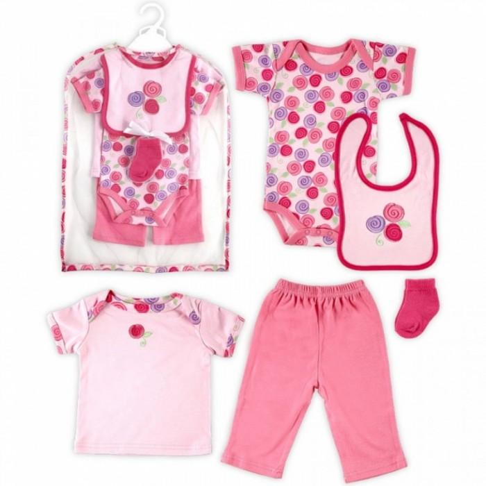 Hudson Baby Подарочный набор одежды Роза (6 предметов)