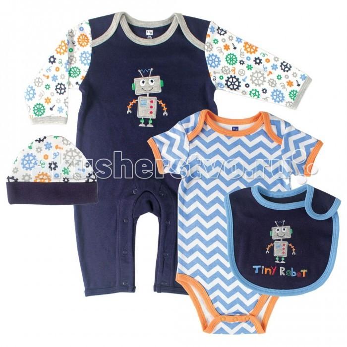 Hudson Baby Подарочный набор одежды Робот (4 предмета)