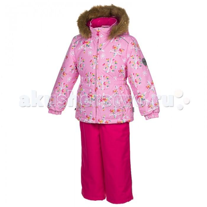 Зимние комбинезоны и комплекты Huppa Комплект для девочек Wonder Снежинки зимние комбинезоны и комплекты huppa комбинезон для малышей lotus 73203
