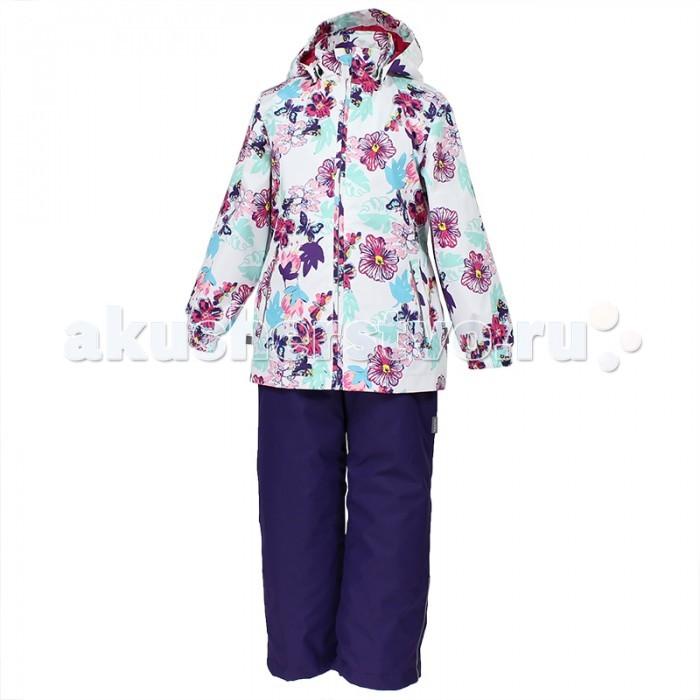 Детская одежда , Демисезонные комбинезоны и комплекты Huppa Комплект для девочки демисезонный Yonne арт: 449789 -  Демисезонные комбинезоны и комплекты