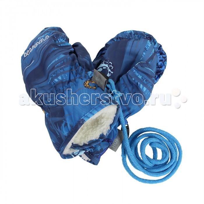 Варежки, перчатки и шарфы Huppa Варежки демисезонные Nunnu 1 варежки детские huppa nunnu 1 цвет фуксия 81710100 00063 размер 2
