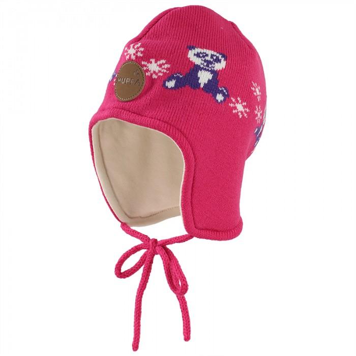 шапки варежки и шарфы huppa вязаная шапка шлем kelda Шапки, варежки и шарфы Huppa Вязаная шапка для малышей Karro 1
