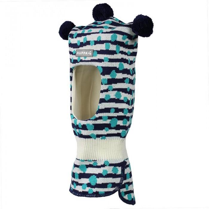 шапки варежки и шарфы huppa вязаная шапка шлем kelda Шапки, варежки и шарфы Huppa Вязаная шапка-шлем Coco W20-21