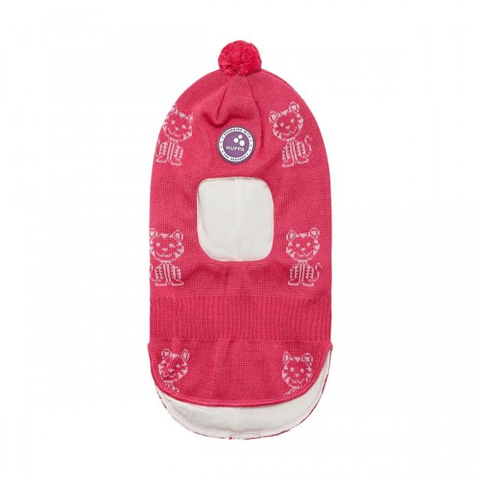 шапки варежки и шарфы huppa вязаная шапка шлем для малышей coco Шапки, варежки и шарфы Huppa Вязаная шапка-шлем Kelda W20-21