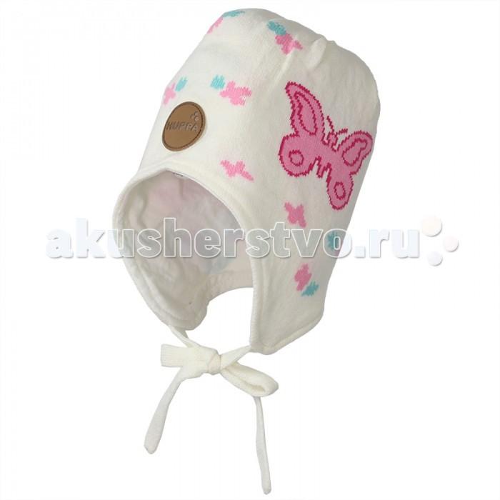 Шапочки и чепчики Huppa Вязаная шапка Silby шапка вязаная button blue шапка вязаная