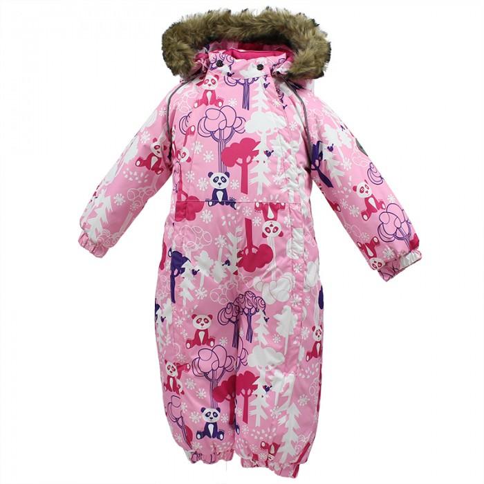 Зимние комбинезоны и комплекты Huppa Комбинезон для малышей Keira Панды комбинезоны нательные для малышей inbebe комбинезон