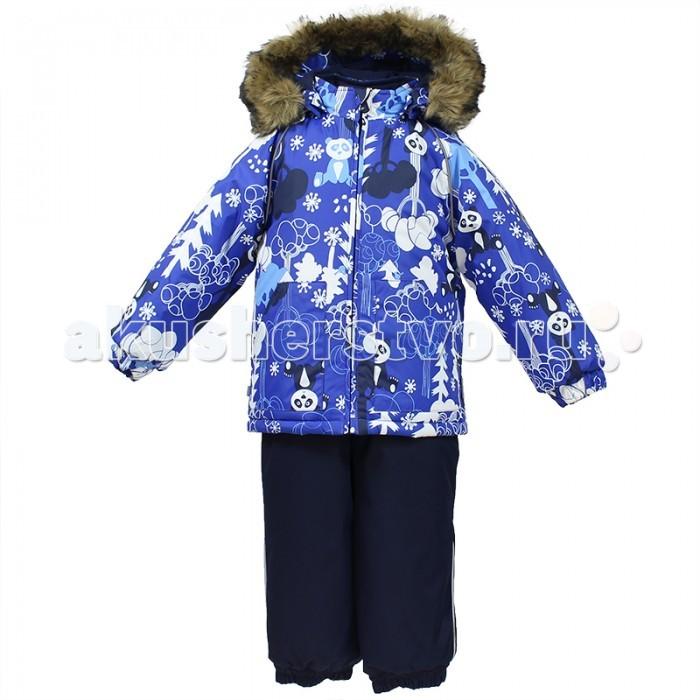 Зимние комбинезоны и комплекты Huppa Комплект для малышей Avery Панды комплект одежды для мальчика huppa avery куртка полукомбинезон цвет синий темно синий 41780030 72535 размер 86