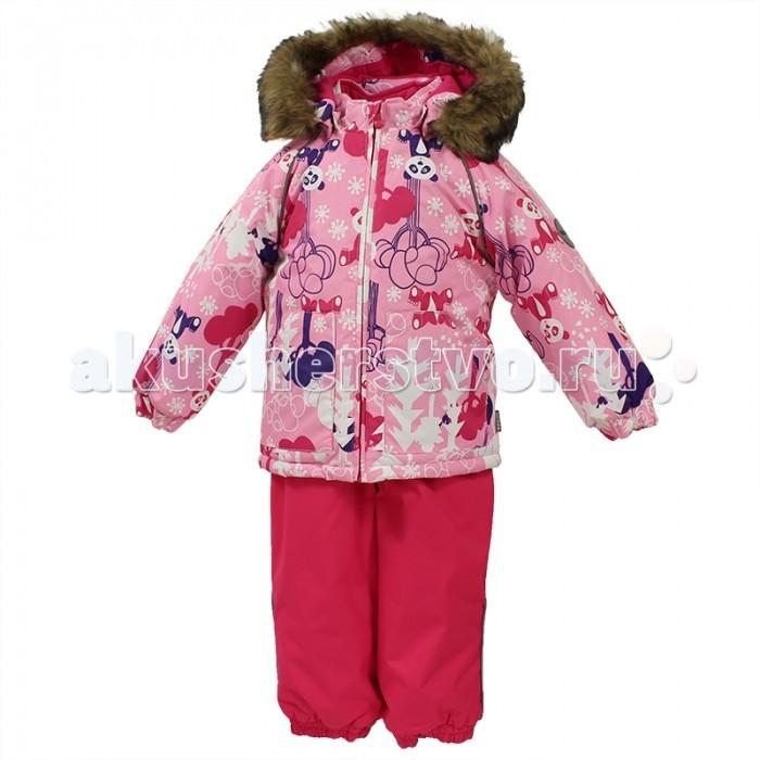 Huppa Комплект для малышей Avery ПандыКомплект для малышей Avery ПандыHuppa Комплект для малышей Avery Панды на зиму.   Водо и воздухонепроницаемость 5 000 куртка и 10 000 брюки. Утеплитель 300 гр куртка и 160 гр брюки. Подкладка фланель 100% хлопок. Отстегивающийся капюшон с мехом. Манжеты рукавов на резинке. Манжеты брюк на резинке. Добавлены петли для ступней. Резиновые подтяжки.  Имеются светоотражательные элементы.  Уход: ручная стирка 40 гр.<br>