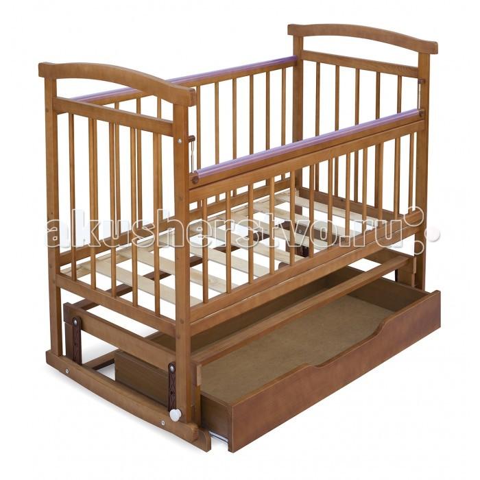 Детская кроватка Бэби Бум Аленка 3 маятникАленка 3 маятникДетская кроватка Бэби Бум Аленка 3 маятник   Модель подкупает лаконичным дизайном, совершенством форм и высокой функциональностью. Это достойный ответ дорогим элитным европейским аналогам!  Особенности: опускающаяся боковина с одной стороны; два уровня основания; полимерные накладки на перекладины(«грызунки») качание - маятниковый механизм спинки - реечные стенки - реечные днище  - реечное выдвижной ящик открытый (без крышки, на фото изображена кроватка с крышкой)<br>