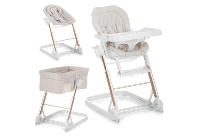 Детская мебель , Колыбели Icoo Grow with me 3 в 1 стульчик-шезлонг арт: 14331 -  Колыбели