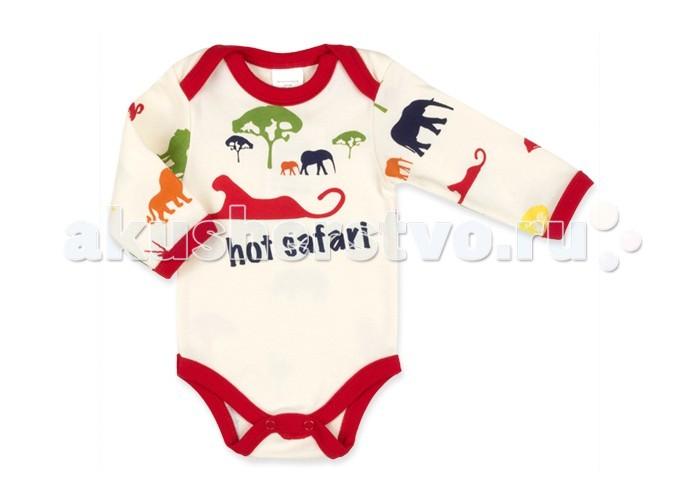 Боди и песочники Idea Kids Боди длинный рукав Hot safari