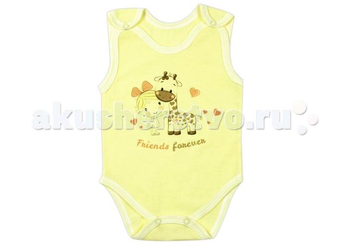 Боди и песочники Idea Kids Боди-майка Friends forever 01ФФ-д футболки и топы idea kids майка зонты