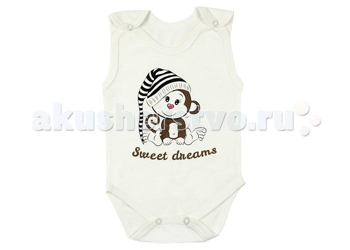 Боди и песочники Idea Kids Боди-майка Sweet dreams 02СД футболки и топы idea kids майка зонты