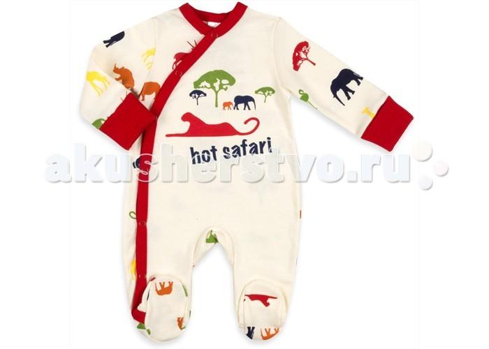 Комбинезоны и полукомбинезоны Idea Kids Комбинезон-кимоно Hot safari