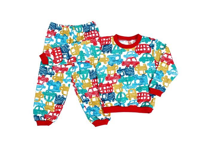 пижамы и ночные сорочки idea kids пижама зонтики Пижамы и ночные сорочки Idea Kids Пижама длинный рукав Машинки