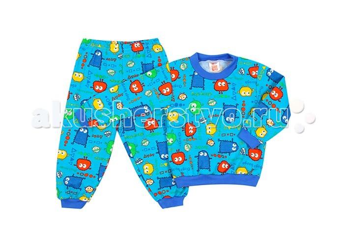 Пижамы и ночные сорочки Idea Kids Пижама длинный рукав Монстрики пижамы и ночные сорочки nannette пижама для малышей 26 1785