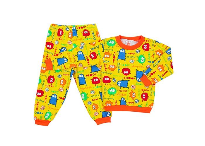 Пижамы и ночные сорочки Idea Kids Пижама длинный рукав Монстрики недорого