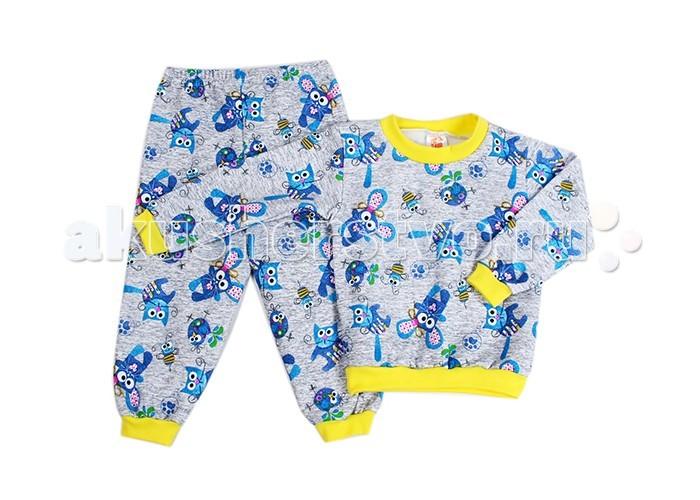 Пижамы и ночные сорочки Idea Kids Пижама длинный рукав Мышата ночные сорочки и рубашки