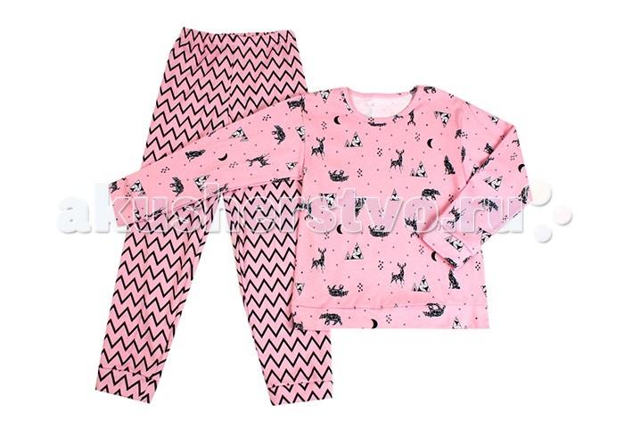 Пижамы и ночные сорочки Idea Kids Пижама длинный рукав Север пижамы и ночные сорочки nannette пижама для малышей 26 1785