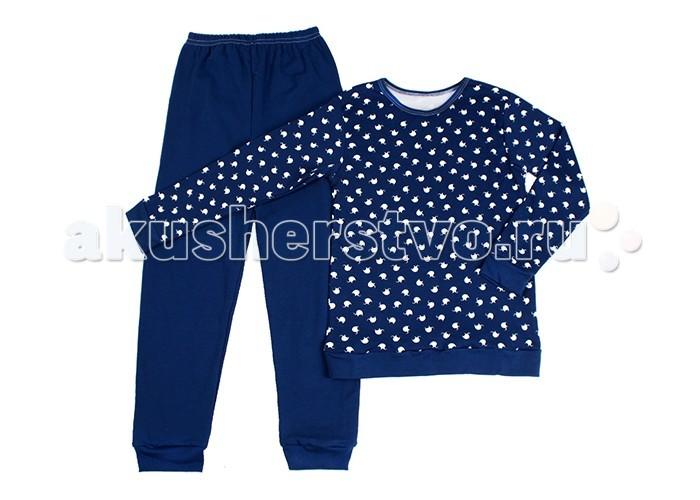 Пижамы и ночные сорочки Idea Kids Пижама длинный рукав Слоники пижамы и ночные сорочки nannette пижама для малышей 26 1785